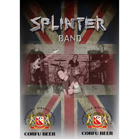 Splinter Band with Lisa B - Corfu Beer Festival