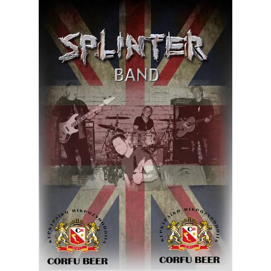 Splinter Band with Lisa B - Corfu Beer Festival 2017